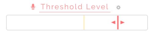 Volume threshold control